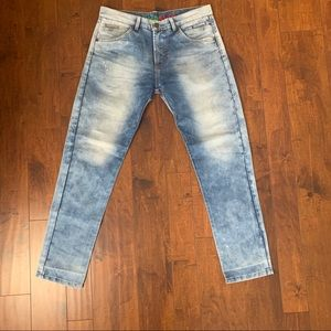 Diesel Jeans Light Wash Distressed Size 32